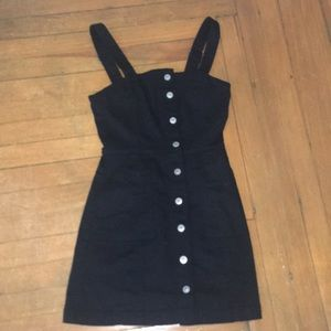 H&M button overall dress